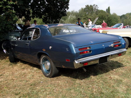 PLYMOUTH Duster Fastback Coupe 1971 Nesles Retro Expo 2009 2