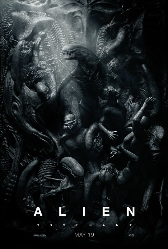 Alien Covenant affiche