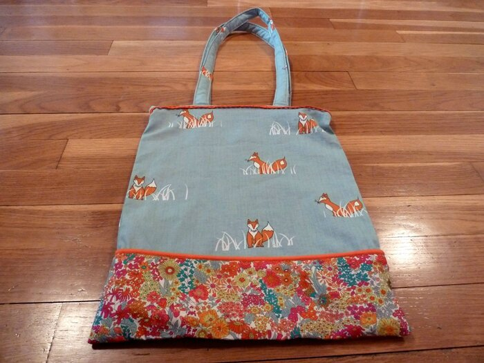 48 Tote Bag Renard et Liberty
