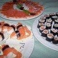 Soirée sushis pour les nuls ou les pressés