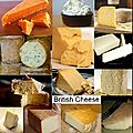 Les fromages anglais