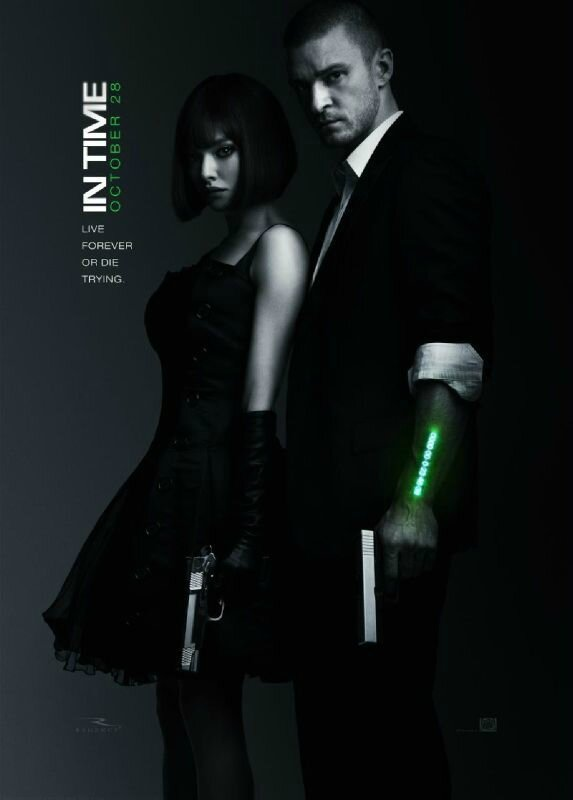 In Time movie Amanda Seyfried and Justin Timberlake