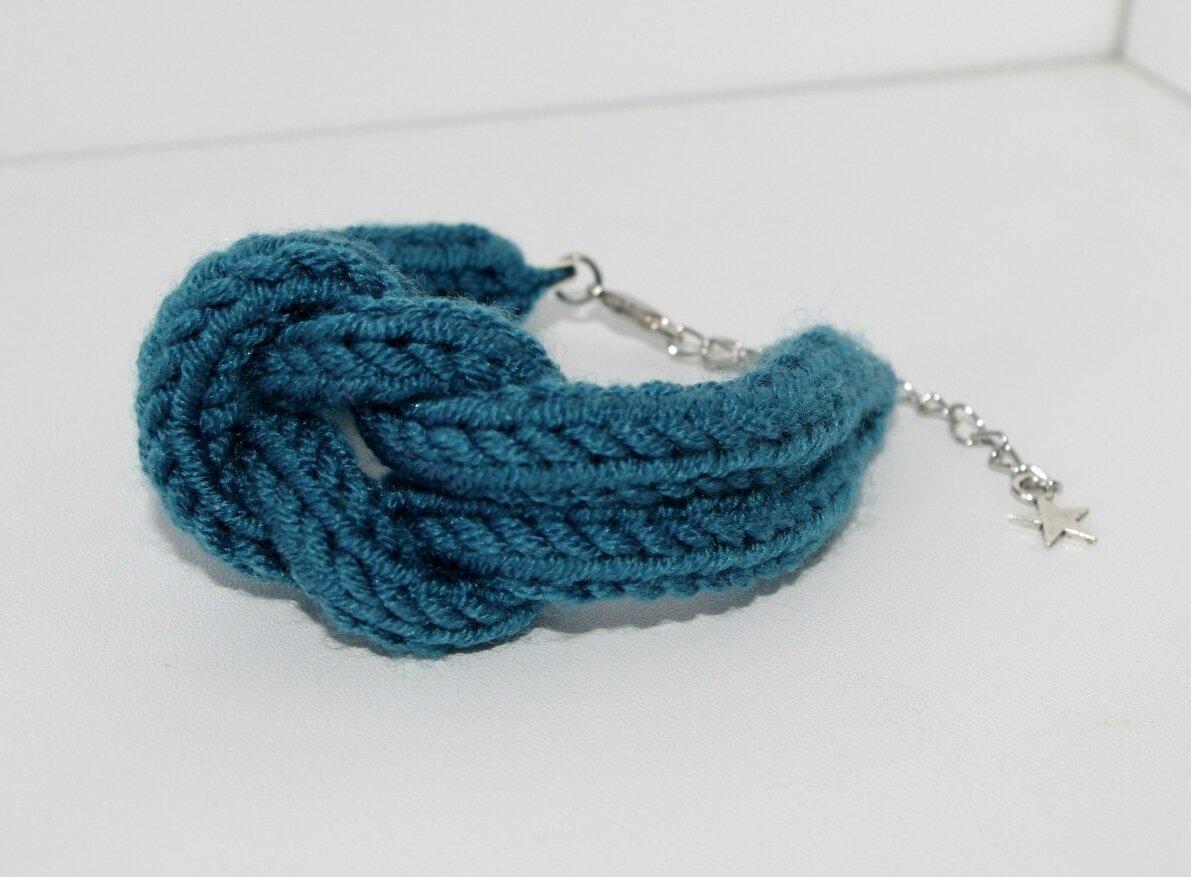 Des bracelets hauts en couleurs d\u0027Automne  Lorsque tricotin rime avec marin