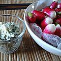 Beurre de fanes de radis