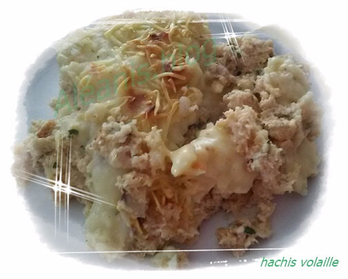 hachis volaille