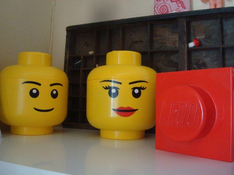 boîtes de rangement lego - angé fée ça