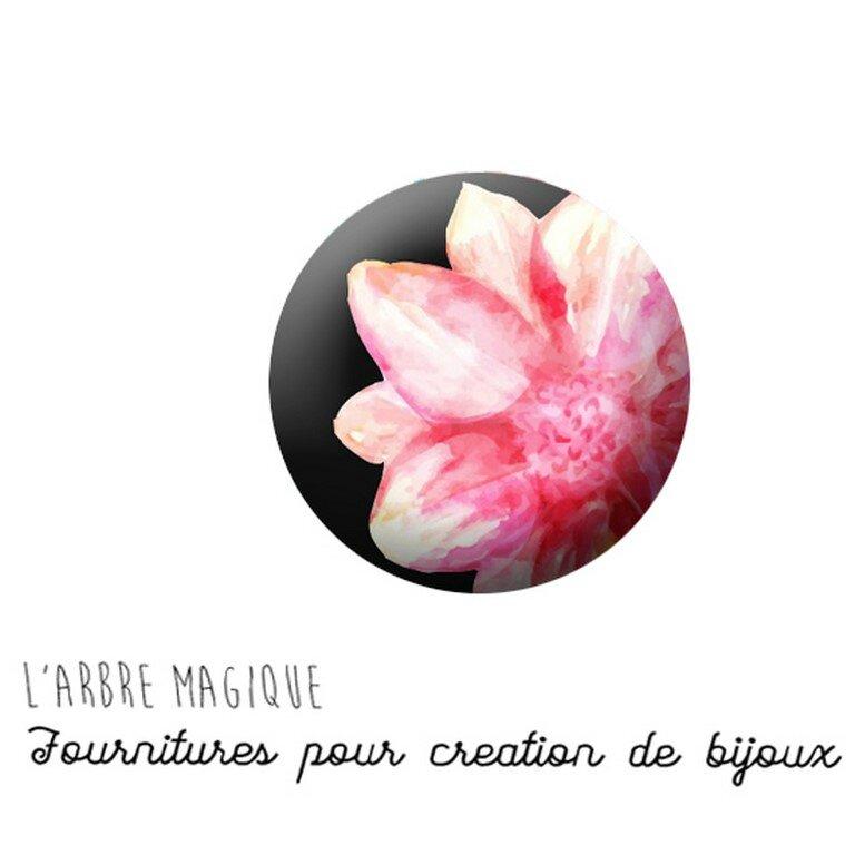 cabochon fleur 733 r