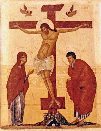 crucifixtion-old-russian