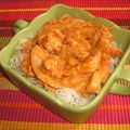 Poulet curry-paprika