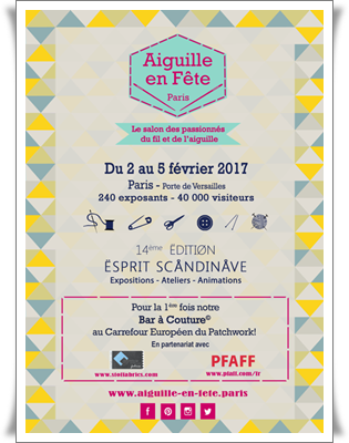Centre de table NoëlAffiche AEF 2017