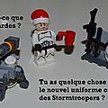 Calendrier de l'avent : jour 17 (carte postale lego star wars)