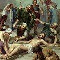 11 Jésus est cloué à la Croix