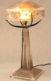 Lampe - Paons 1910