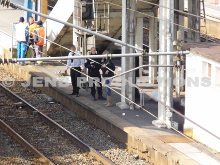 Suicide à la gare de Noisy-le-sec 27 février 2012