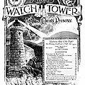 Histoire et origines maçonniques des témoins de jéhovah