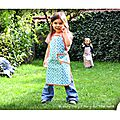 IMG_4593-owly-mary-du-pole-nord-tablier-enfant-cuisine-gateau-patisserie-popote-fleur-turquoise-orange-blanc-biais-pois