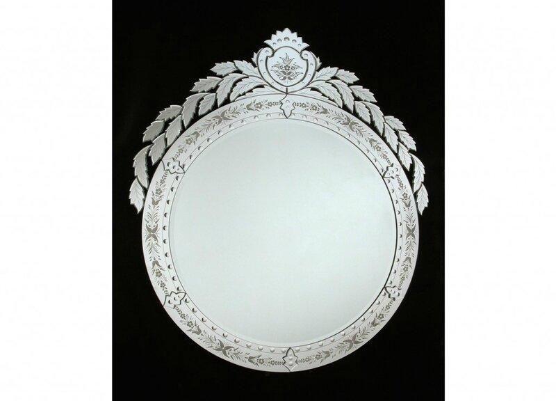 Miroirs en verre de venise fabrication artisanale sur l for Fabrication d un miroir