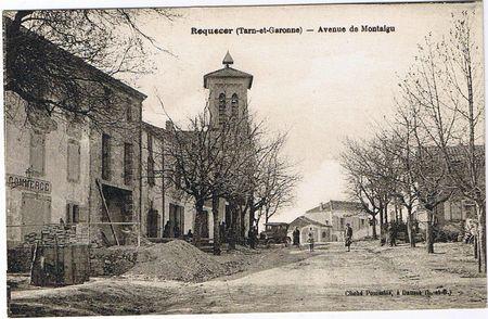 Roquecor (Tarn-et-Garonne) - Avenue de Montaigu Cliché Pommiès, à Dausse (L