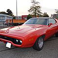 PLYMOUTH Satellite Sebring hardtop coupé 1972 Offenbourg (1)