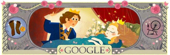 Google-Anniv' Charles Perrault-La belle au bois dormant