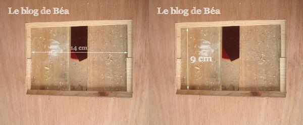 cadre en bois de cagette
