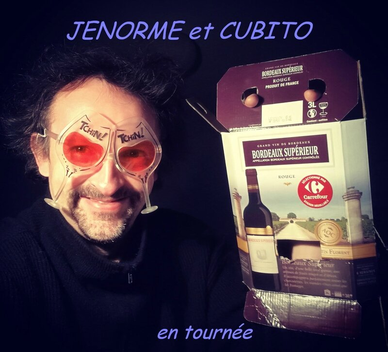 Jénorme et Cubito en pestacle A