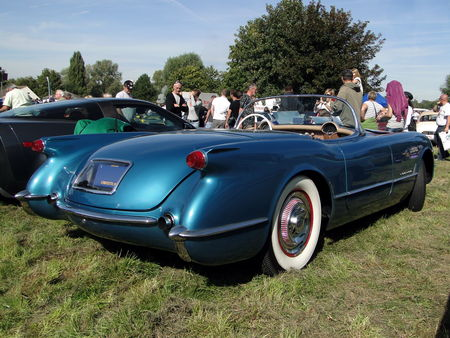 CHEVROLET Corvette Convertible Roadster 1954 Nesles Retro Expo 2010 3