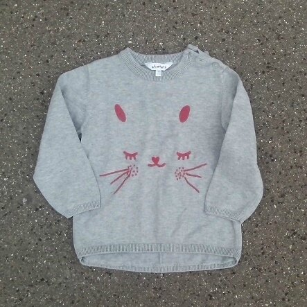 Pull lapin, 3 ans