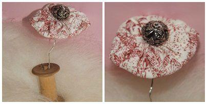 Fleurs de tissus (2)