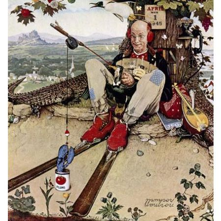Norman_Rockwell_April_Fool_Fly_Fishing