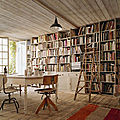 bolig-book-bookcase-books-bookshelf-chairs-Favim