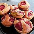 Muffins aux Fraises