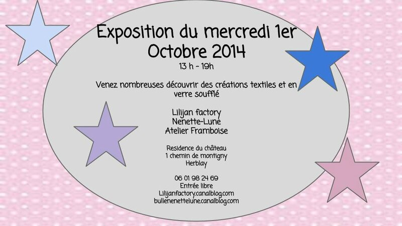 flyer expo 1 octobre 14