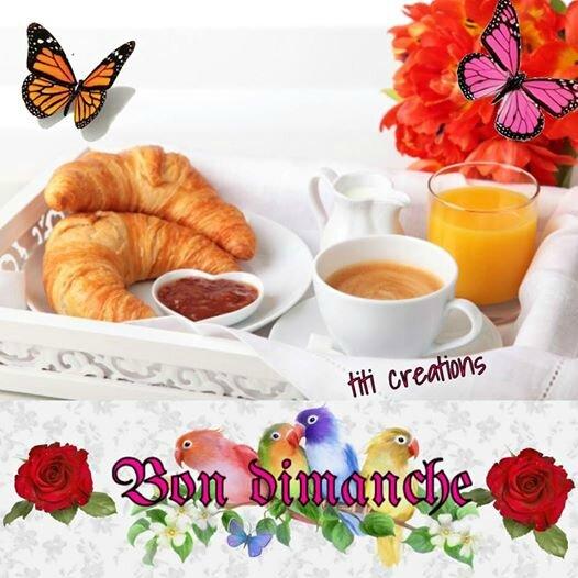 Souvent bon dimanche à tous ♥ - Titi Créations KY39