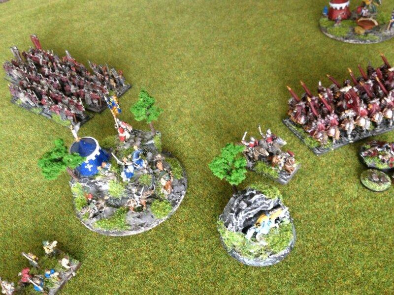 Rapport de bataille Bretonnie chaos 2000 points 103370843