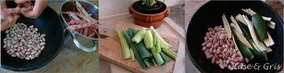 légumes préparés