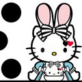 Hello kitty in wonderland