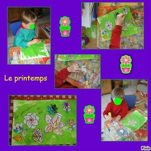 photocollageprintemps de noé