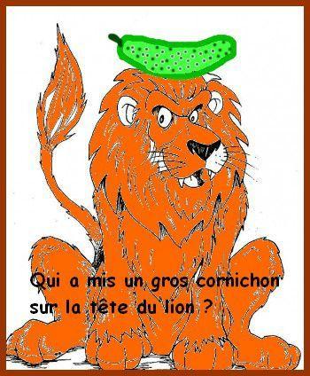 LION CORNICHON