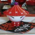 TABLE ASIATIQUE PSYCHEDELIQUE