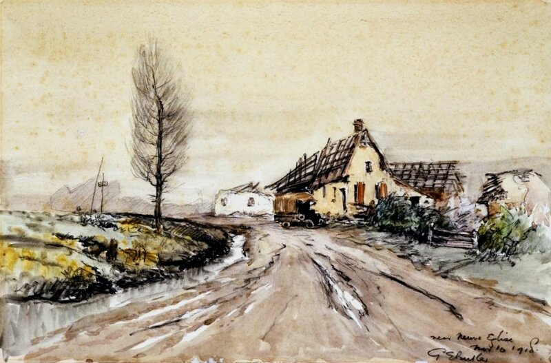 Butler Neuve Eglise 1918
