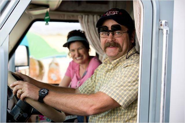 La sympatique Famille Fitzgerald en Camping car