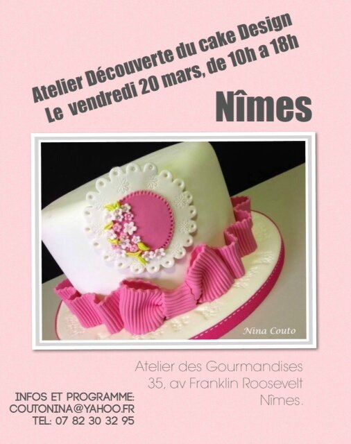 atelier pate a sucre nimes