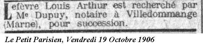 1906 19 Octobre
