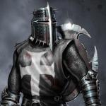 chevalier noir chretien