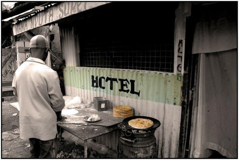 Hôtel dans Kibera