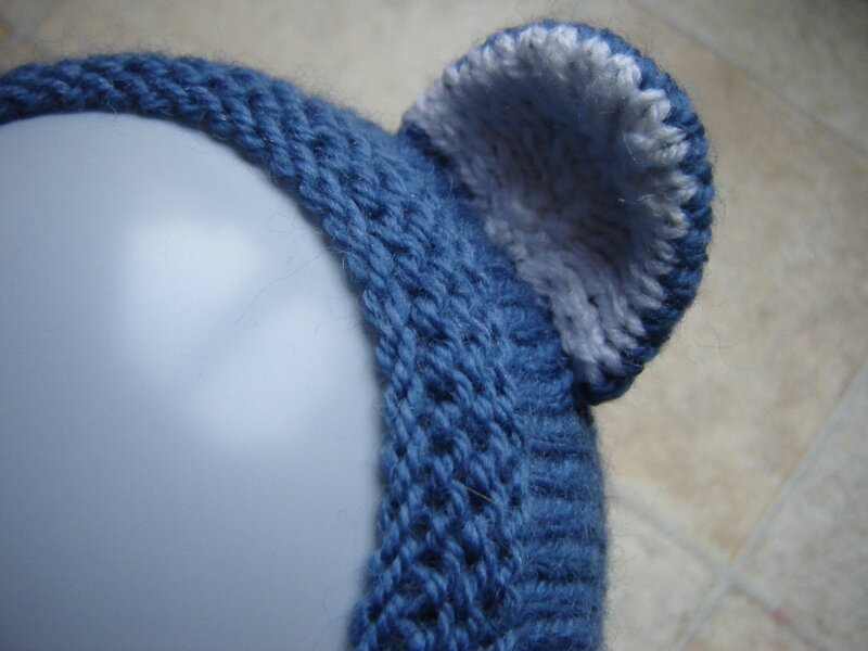 Bonnet ours oreille
