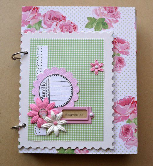 Mini Album Souvenirs Le Scrap De Carol