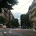 Grenoble a l'heure des fleurs