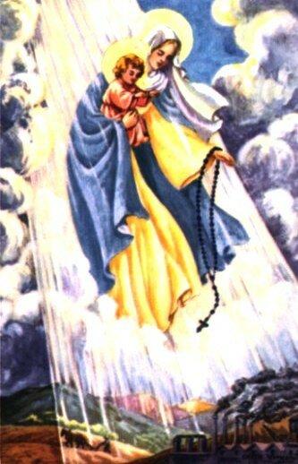 vierge au chapelet
